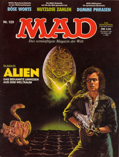 Cover for Mad (BSV - Williams, 1967 series) #129