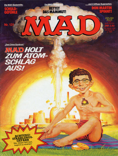 Cover for Mad (BSV - Williams, 1967 series) #131