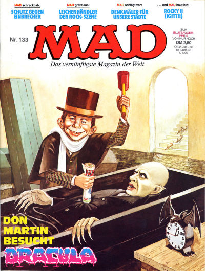 Cover for Mad (BSV - Williams, 1967 series) #133