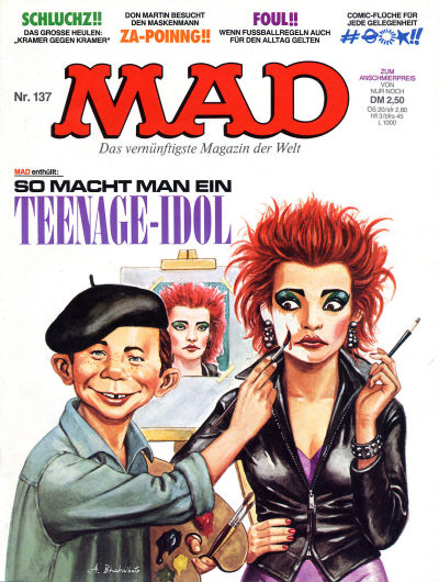 Cover for Mad (BSV - Williams, 1967 series) #137