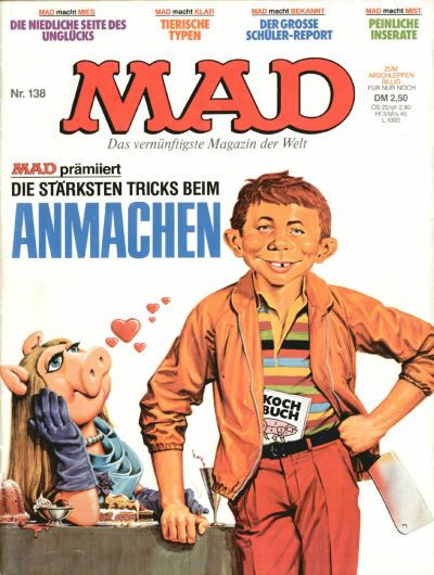 Cover for Mad (BSV - Williams, 1967 series) #138