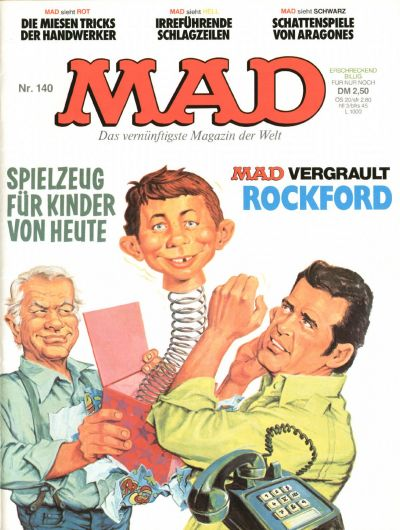 Cover for Mad (BSV - Williams, 1967 series) #140