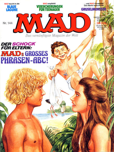 Cover for Mad (BSV - Williams, 1967 series) #144
