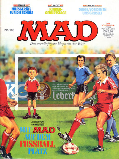Cover for Mad (BSV - Williams, 1967 series) #146