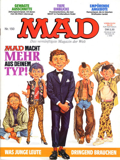 Cover for Mad (BSV - Williams, 1967 series) #150