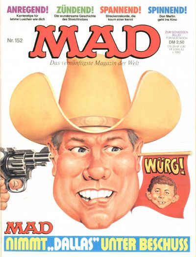 Cover for Mad (BSV - Williams, 1967 series) #152