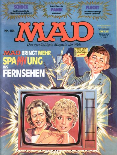 Cover for Mad (BSV - Williams, 1967 series) #154