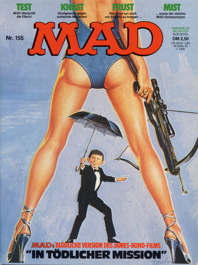 Cover for Mad (BSV - Williams, 1967 series) #155