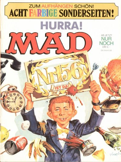 Cover for Mad (BSV - Williams, 1967 series) #156