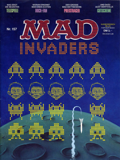 Cover for Mad (BSV - Williams, 1967 series) #157