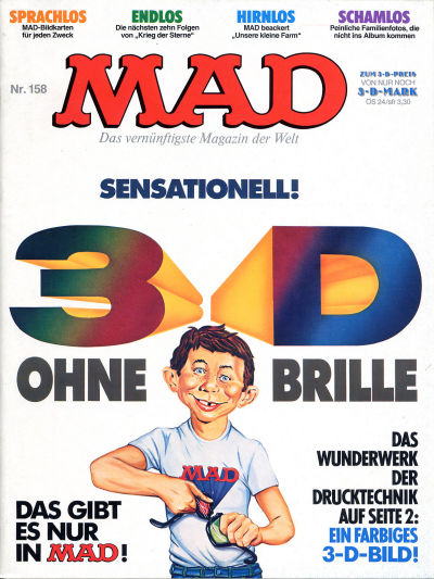 Cover for Mad (BSV - Williams, 1967 series) #158