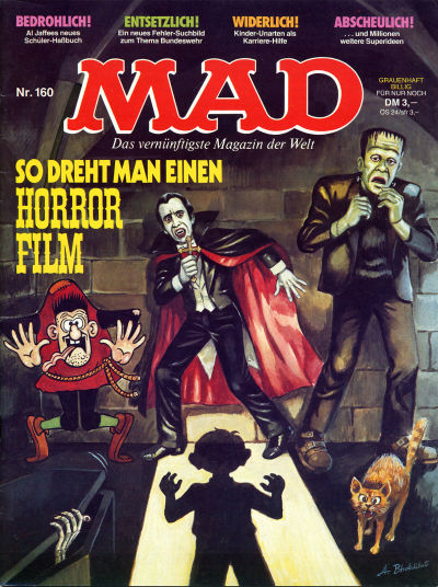 Cover for Mad (BSV - Williams, 1967 series) #160