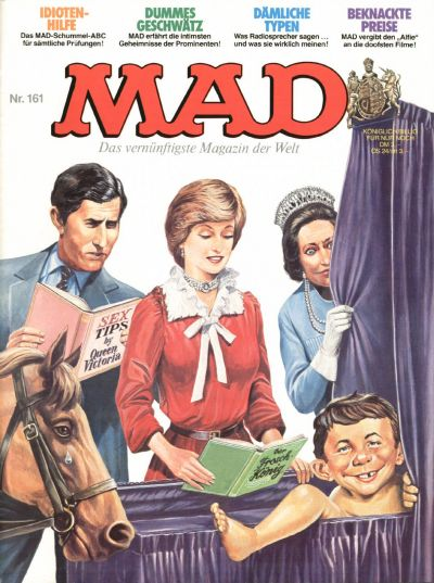 Cover for Mad (BSV - Williams, 1967 series) #161