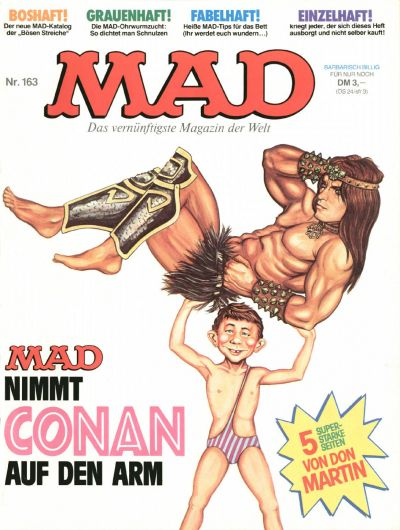 Cover for Mad (BSV - Williams, 1967 series) #163