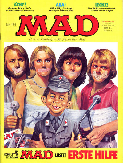 Cover for Mad (BSV - Williams, 1967 series) #164