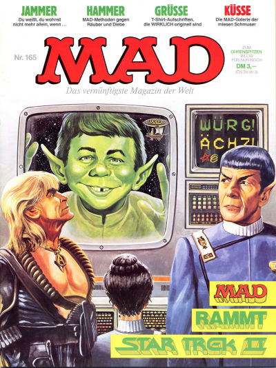 Cover for Mad (BSV - Williams, 1967 series) #165