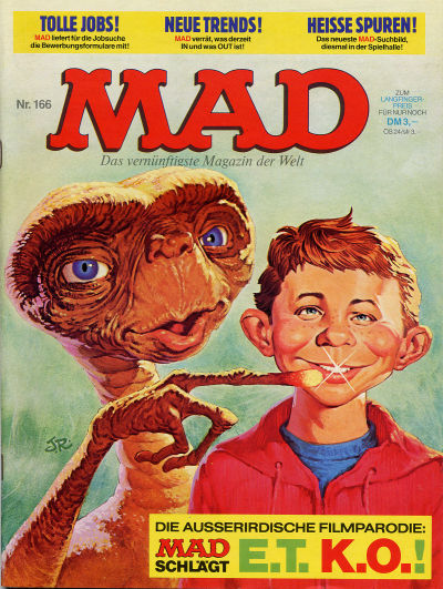 Cover for Mad (BSV - Williams, 1967 series) #166