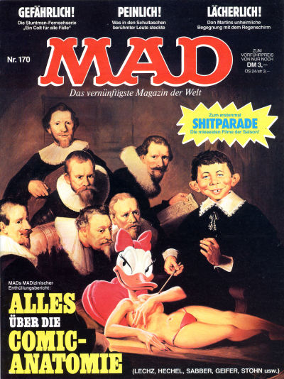 Cover for Mad (BSV - Williams, 1967 series) #170