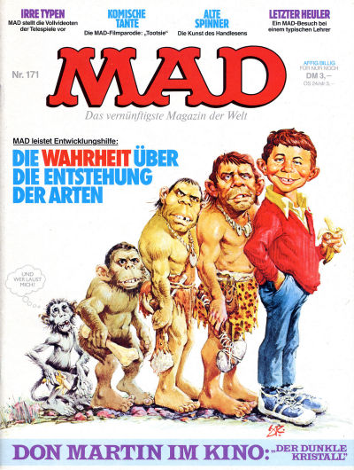 Cover for Mad (BSV - Williams, 1967 series) #171