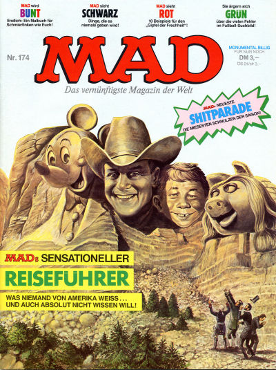 Cover for Mad (BSV - Williams, 1967 series) #174