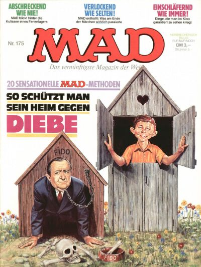 Cover for Mad (BSV - Williams, 1967 series) #175