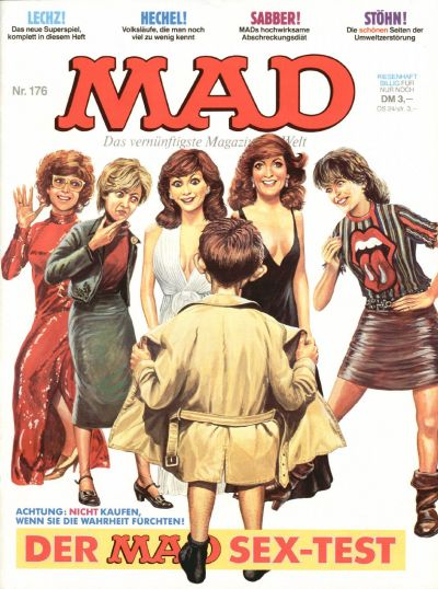 Cover for Mad (BSV - Williams, 1967 series) #176