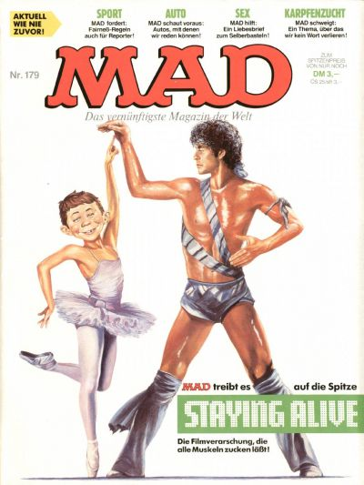 Cover for Mad (BSV - Williams, 1967 series) #179