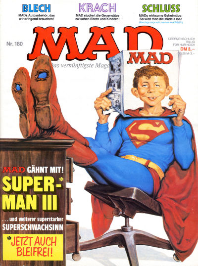 Cover for Mad (BSV - Williams, 1967 series) #180