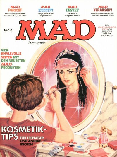 Cover for Mad (BSV - Williams, 1967 series) #181