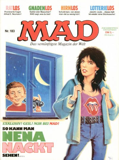 Cover for Mad (BSV - Williams, 1967 series) #183