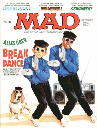 Cover for Mad (BSV - Williams, 1967 series) #185