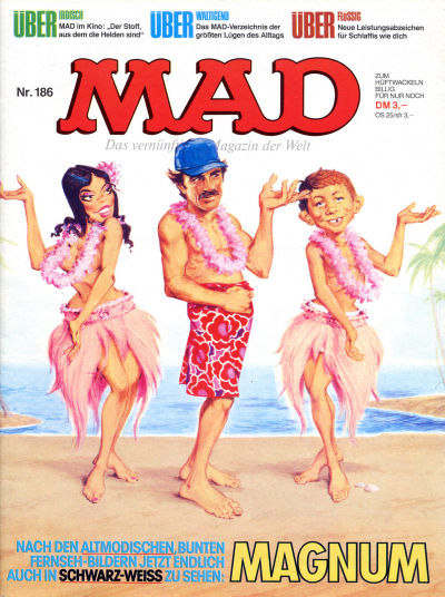 Cover for Mad (BSV - Williams, 1967 series) #186