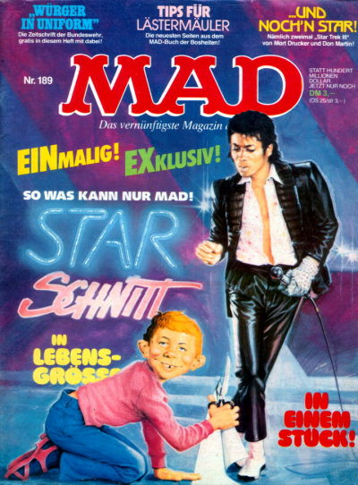 Cover for Mad (BSV - Williams, 1967 series) #189