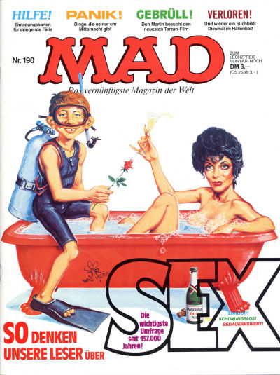 Cover for Mad (BSV - Williams, 1967 series) #190