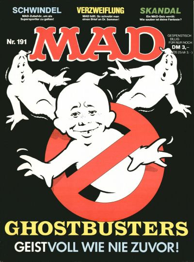 Cover for Mad (BSV - Williams, 1967 series) #191