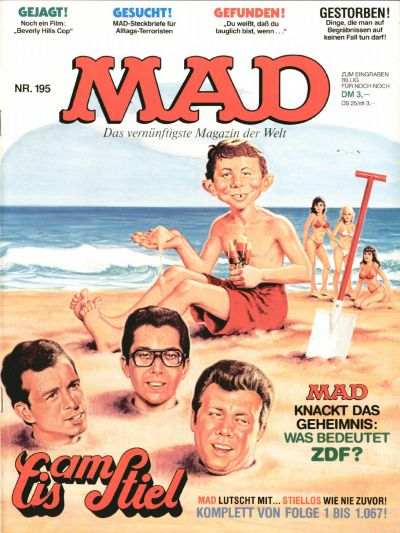 Cover for Mad (BSV - Williams, 1967 series) #195