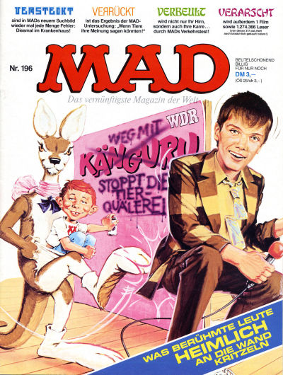 Cover for Mad (BSV - Williams, 1967 series) #196