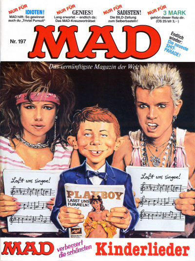 Cover for Mad (BSV - Williams, 1967 series) #197