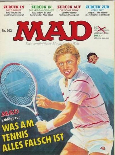 Cover for Mad (BSV - Williams, 1967 series) #202