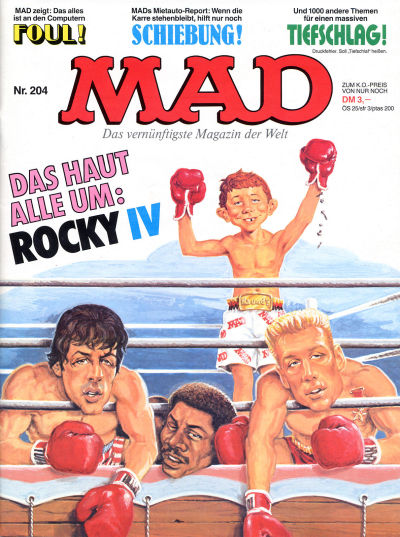 Cover for Mad (BSV - Williams, 1967 series) #204
