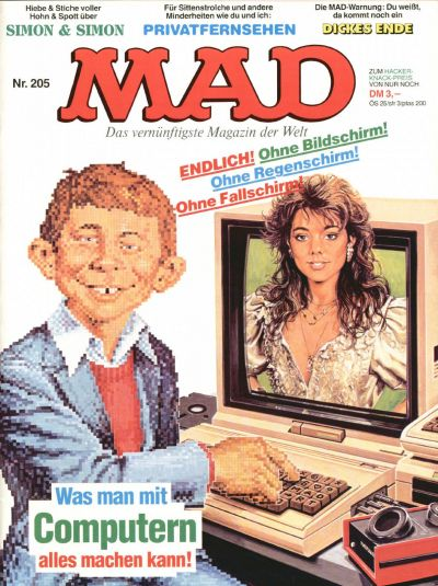 Cover for Mad (BSV - Williams, 1967 series) #205