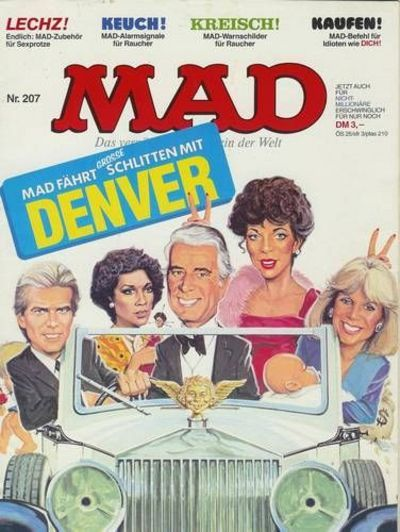 Cover for Mad (BSV - Williams, 1967 series) #207
