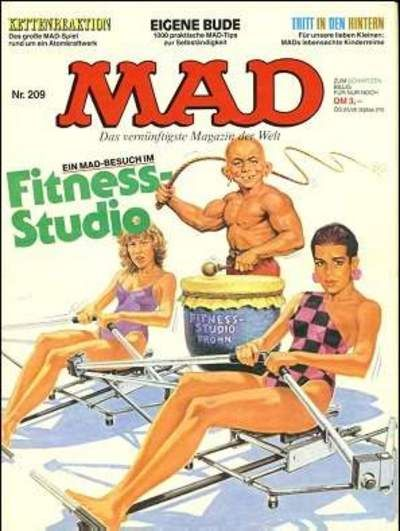 Cover for Mad (BSV - Williams, 1967 series) #209