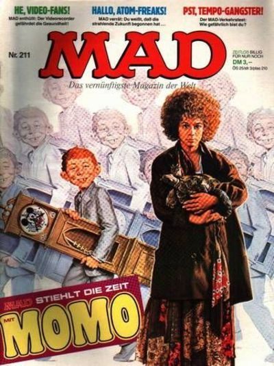 Cover for Mad (BSV - Williams, 1967 series) #211