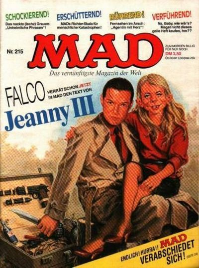 Cover for Mad (BSV - Williams, 1967 series) #215