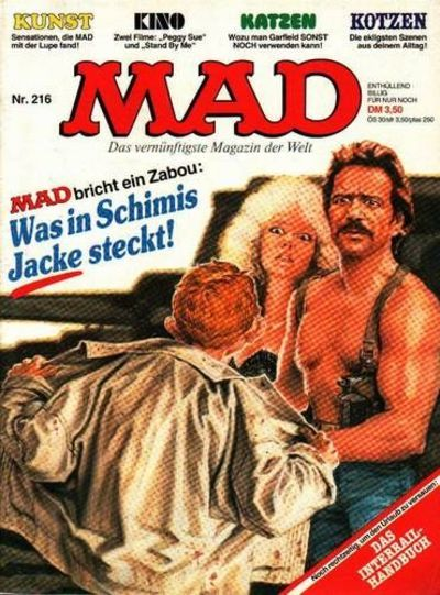 Cover for Mad (BSV - Williams, 1967 series) #216