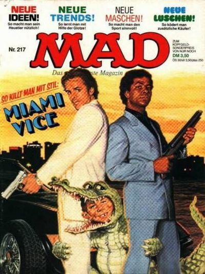 Cover for Mad (BSV - Williams, 1967 series) #217