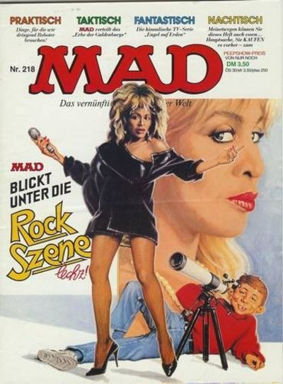Cover for Mad (BSV - Williams, 1967 series) #218