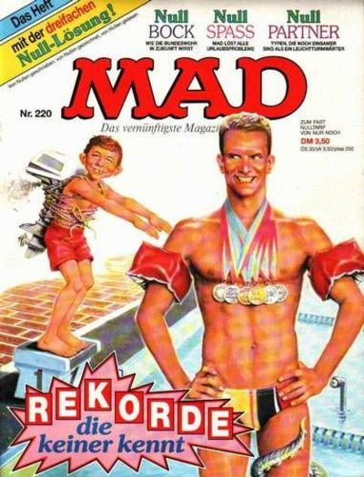 Cover for Mad (BSV - Williams, 1967 series) #220