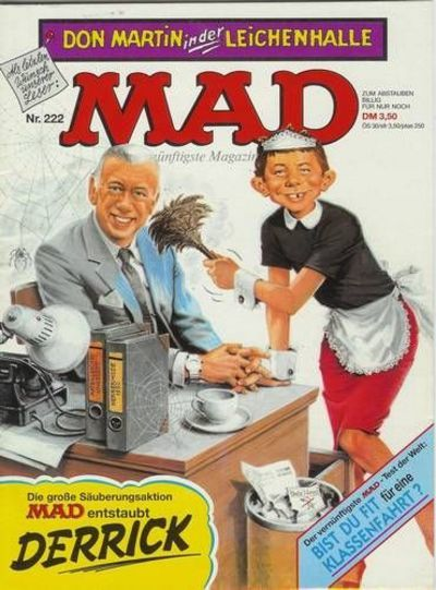 Cover for Mad (BSV - Williams, 1967 series) #222